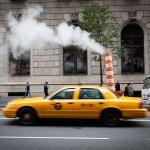 NYC straatfotografie, smoke