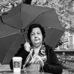 NYC straatfotografie, Starbucks