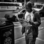 NYC straatfotografie, killer Nanny