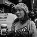NYC straatfotografie, have a nice day