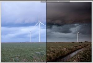 Windmolens Voor en Na bewerking